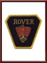 Vintage Rover Automobiles Sew-On Patch