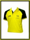 Valentino Rossi Polo Shirt Yellow and Black Signature