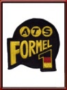 Vintage ATS Formel 1 Sew-On Patch